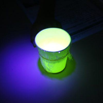 ブラックライトで色が変わるスライムを作ろう!